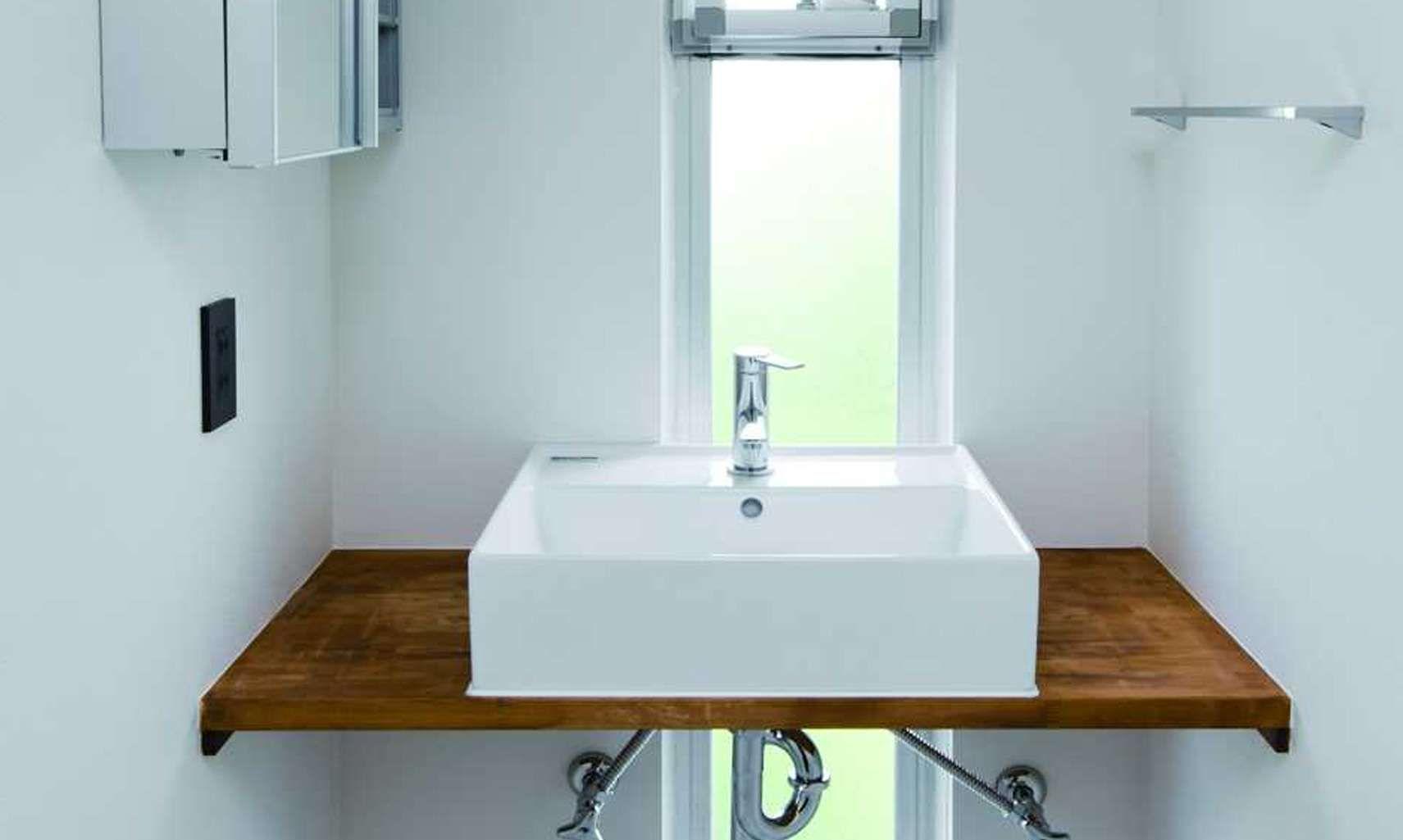 三面鏡じゃない洗面所がリノベーションっぽい!おしゃれな洗面所特集